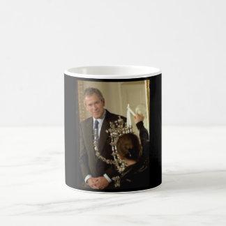 G.W. Bush Hanukkah Menorah Mug