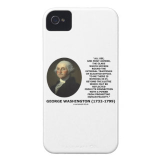 G. Washington External Trappings Elevated Office Case-Mate iPhone 4 Cases