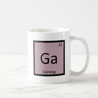Ga - Gaming Games Chemistry Periodic Table Symbol Coffee Mug