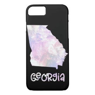GA Georgia State Iridescent Opalescent Pearly iPhone 8/7 Case