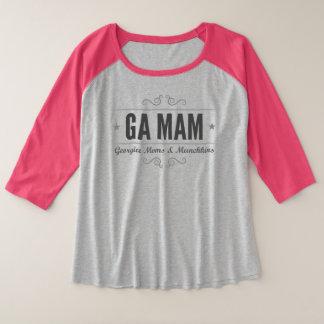 GA MAM Plus Size Raglan T-shirt