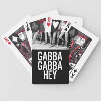 Gabba Gabba Hey Poker Deck