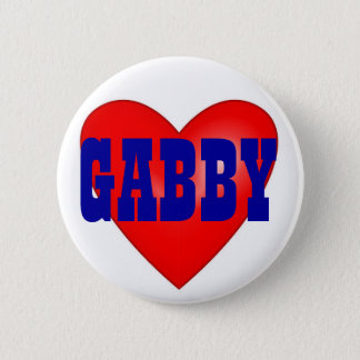 Gabby Giffords 2012 6 Cm Round Badge
