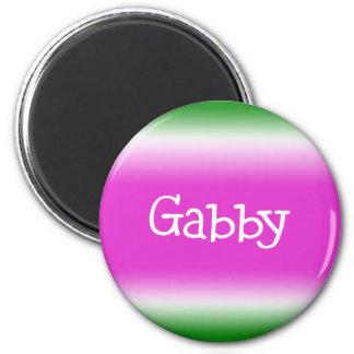 Gabby Refrigerator Magnet