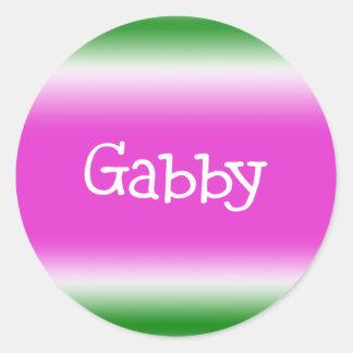 Gabby Stickers