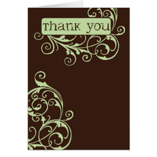 Gabby Thank You Card