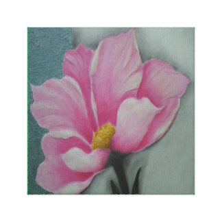 GabbyJavy linen cloth of pink flower Canvas Print