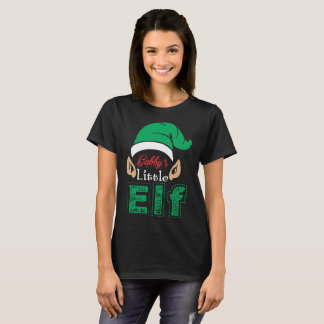 Gabbys Little Elf Christmas Xmas T-Shirt