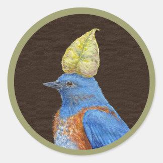 Gabe the western bluebird sticker