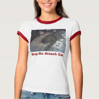 GabeSkipBo, Skip-Bo Attack Cat T-shirts