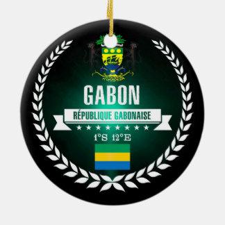 Gabon Ceramic Ornament