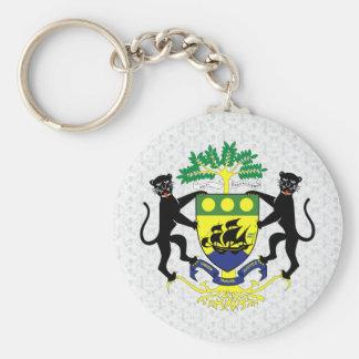 Gabon Coat of Arms detail Key Ring