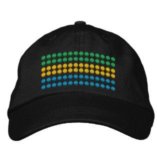 Gabon Flag Embroidered Hat