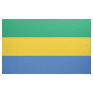 Gabon Flag Fabric