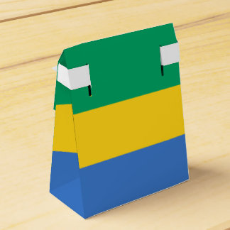 Gabon Flag Favour Box