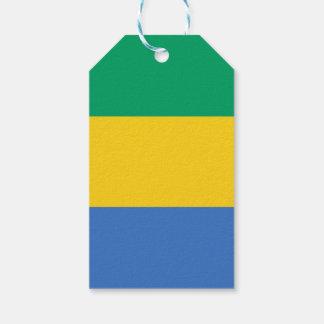 Gabon Flag Gift Tags