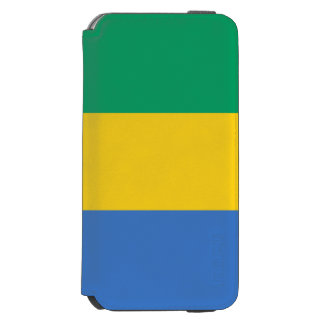 Gabon Flag Incipio Watson™ iPhone 6 Wallet Case