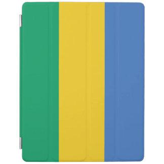 Gabon Flag iPad Cover