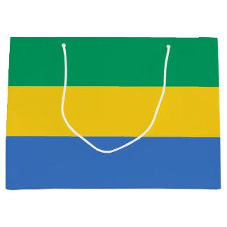 Gabon Flag Large Gift Bag