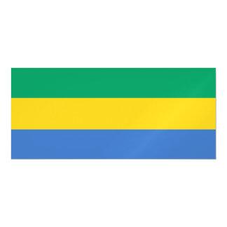 Gabon Flag Magnetic Invitations