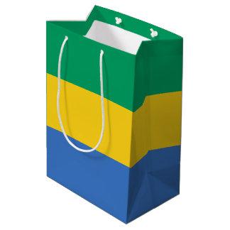Gabon Flag Medium Gift Bag