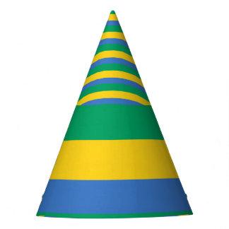 Gabon Flag Party Hat