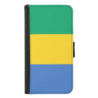 Gabon Flag Samsung Galaxy S5 Wallet Case