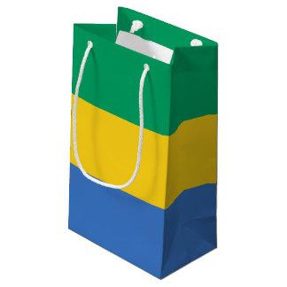 Gabon Flag Small Gift Bag