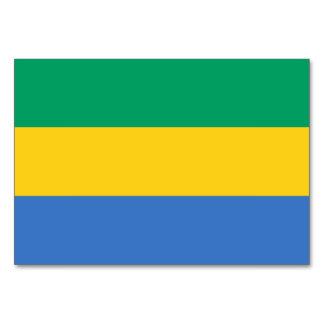 Gabon Flag Table Cards