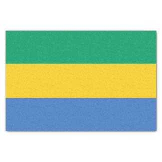 Gabon Flag Tissue Paper