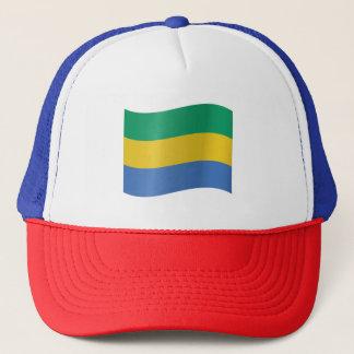 Gabon Flag Trucker Hat