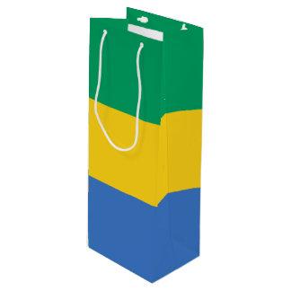 Gabon Flag Wine Gift Bag