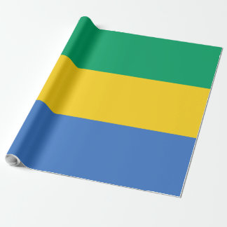 Gabon Flag Wrapping Paper