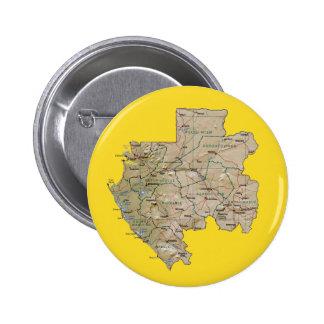 Gabon Map Button