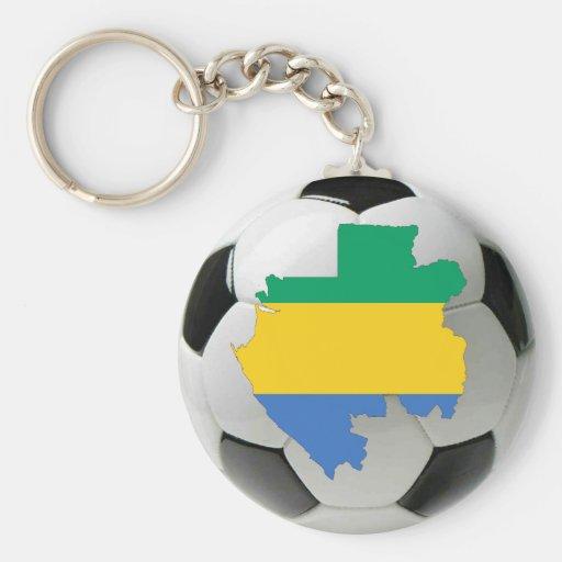 Gabon national team keychain
