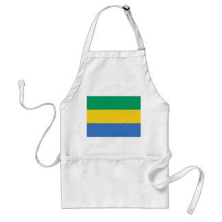 Gabon National World Flag Standard Apron