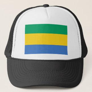 Gabon National World Flag Trucker Hat
