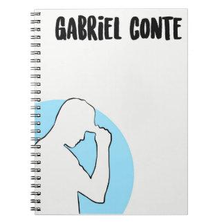 Gabriel Conte Simple Art Notebook