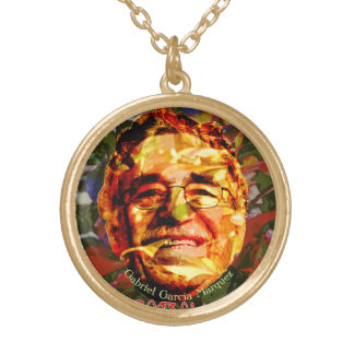 Gabriel García Márquez Gold Plated Necklace