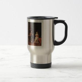 Gabriel Metsu- The Huntsman and the Lady Coffee Mugs