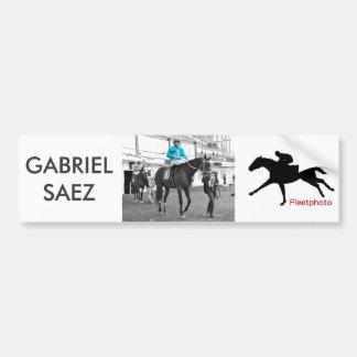 Gabriel Saez-Foxhall Drive Bumper Sticker