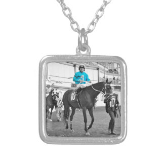 Gabriel Saez-Foxhall Drive Silver Plated Necklace
