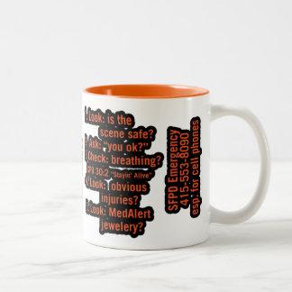 Gabriel Two-Tone Coffee Mug