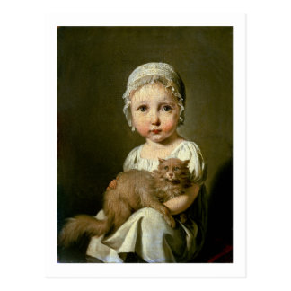Gabrielle Arnault (1811-72) 1813 (oil on canvas) Postcard