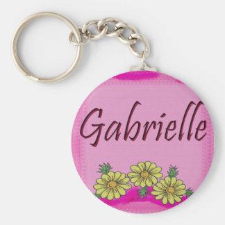 Gabrielle Daisy Keychain