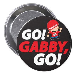 Gabrielle's IronMan pin