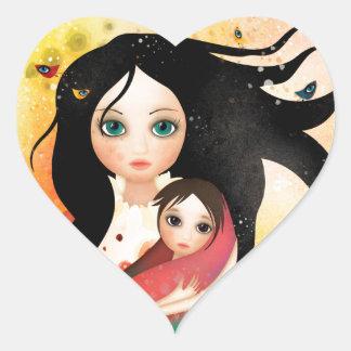 Gabriel's Mother Heart Sticker