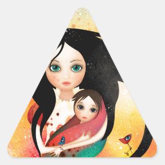 Gabriel's Mother Triangle Sticker
