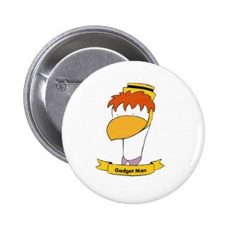 Gadget Man 6 Cm Round Badge