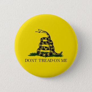Gadsden 6 Cm Round Badge